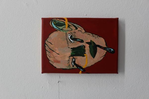 Έργο για Δωρεά, Untitled, 13x18, ακρυλικά σε καμβά